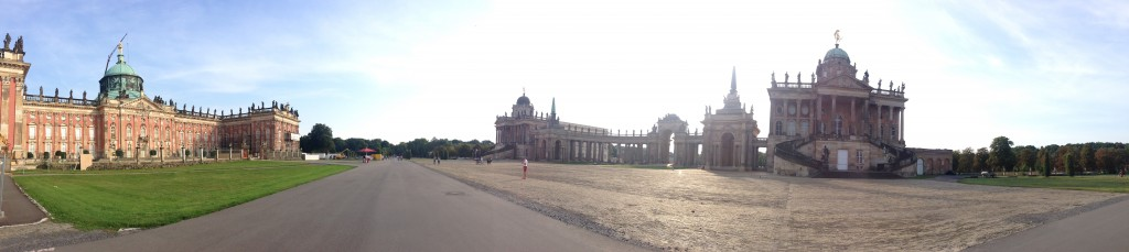 Panorama castle sanssouci
