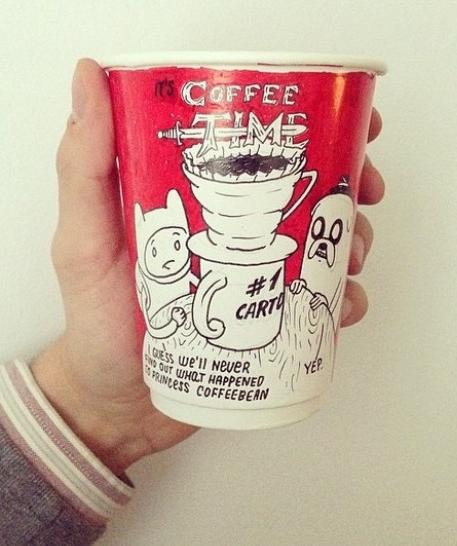 pictura pahare de cafea