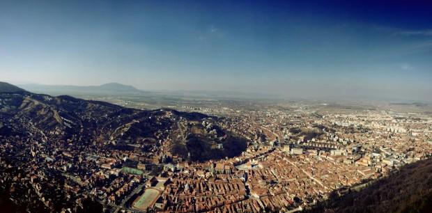 Panoramic vedere Brasov