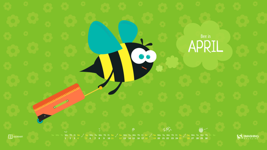 desktop wallpaper calendar april 2015