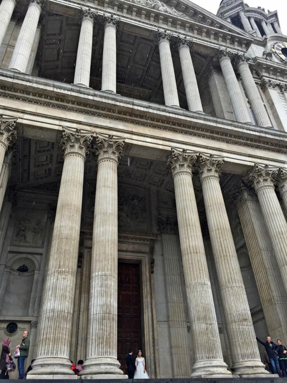 mireasa la catedrala Sfantul Paul Londra