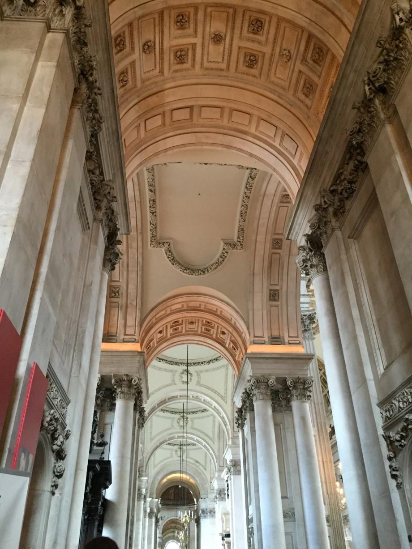 interior catedrala Sfantul Paul Londra