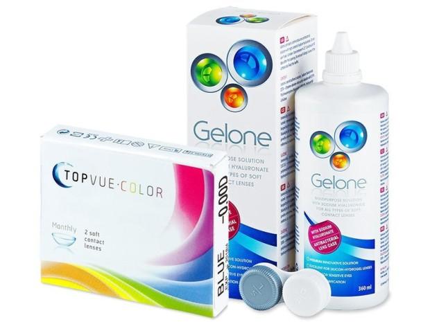 Concurs: Castiga un pachet de lentile de contact colorate TopVue Color + solutie