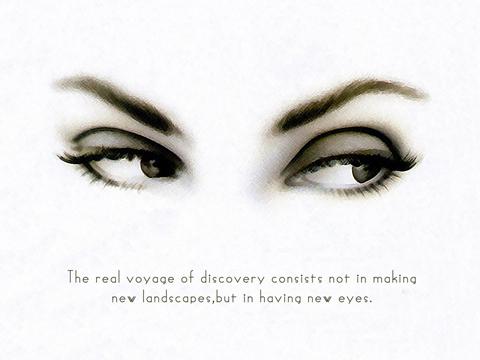 ochii albastri citate