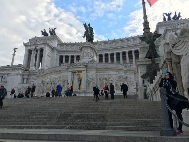 monumentul Vittorio in Roma