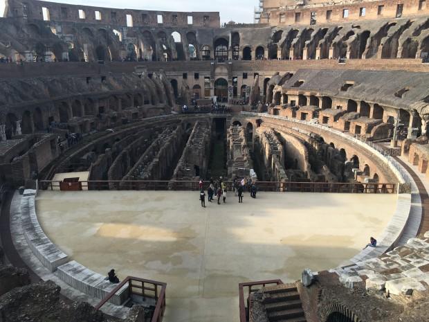 colosseum Roma decembrie