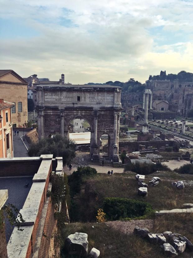 Palatino Forumul Roman