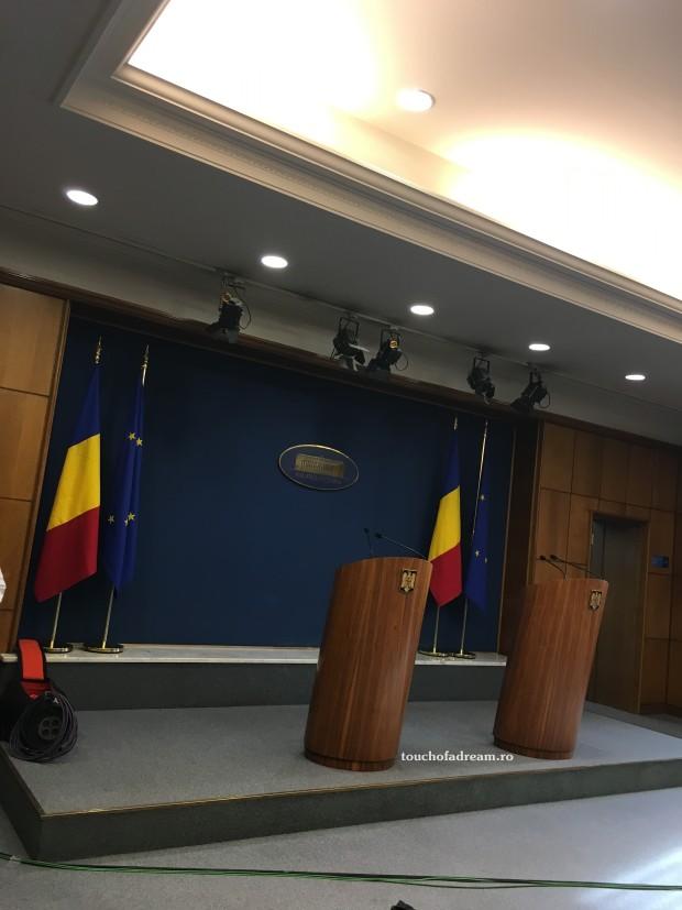 Sala conferintelor de presa Palatul Victoria