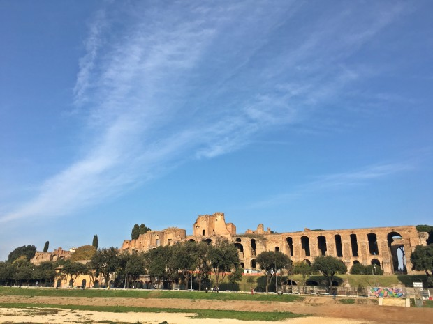 circo massimo Roma decembrie