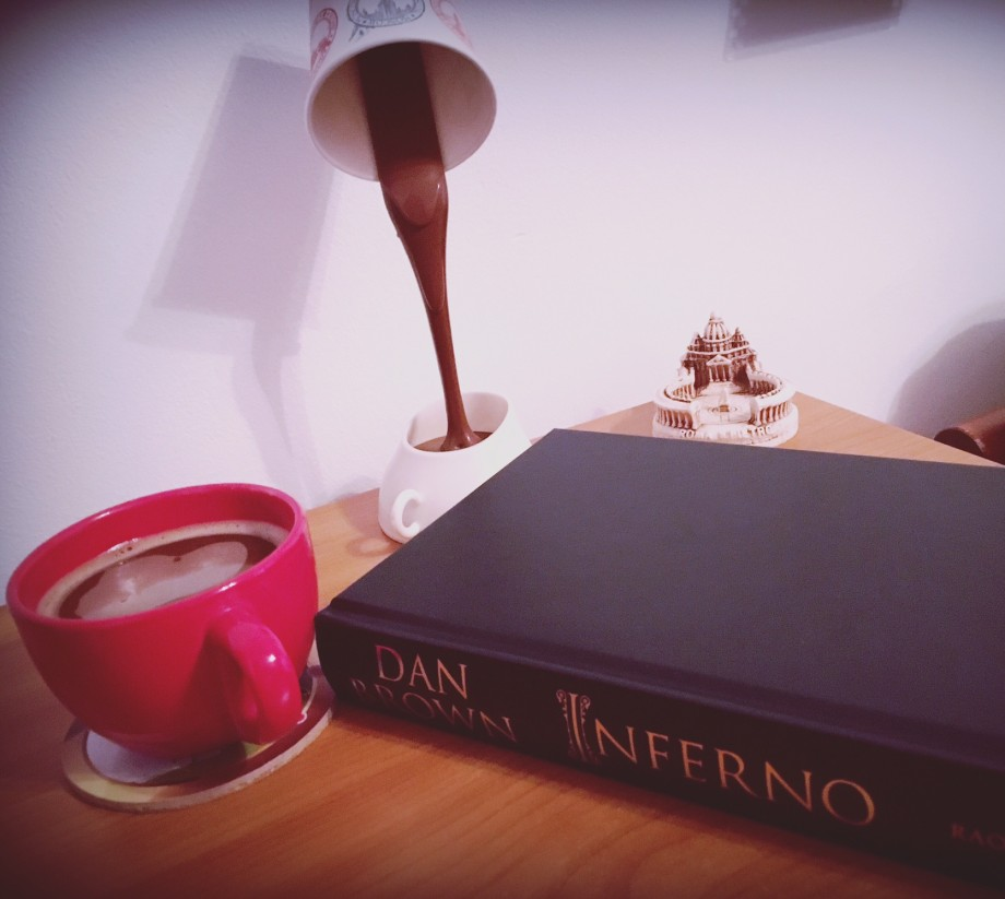 Inferno dark coffee Inferno Dan Brown book