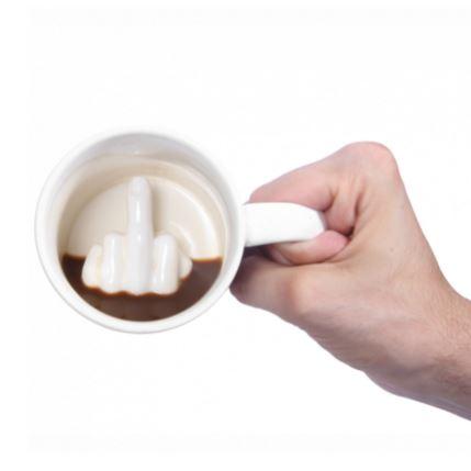cana cafea deget mijlociu idei cadou