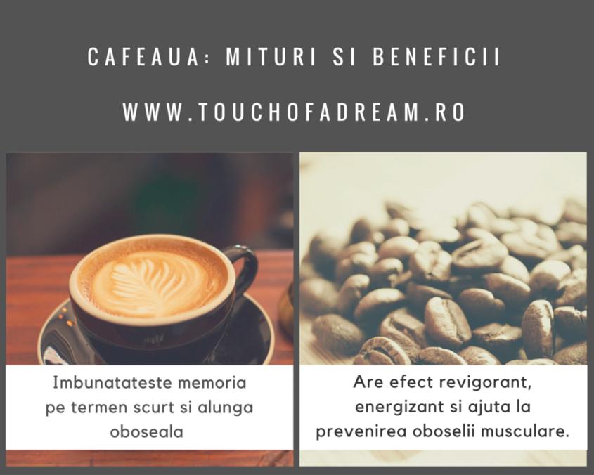 Cafeaua - Beneficii si mituri