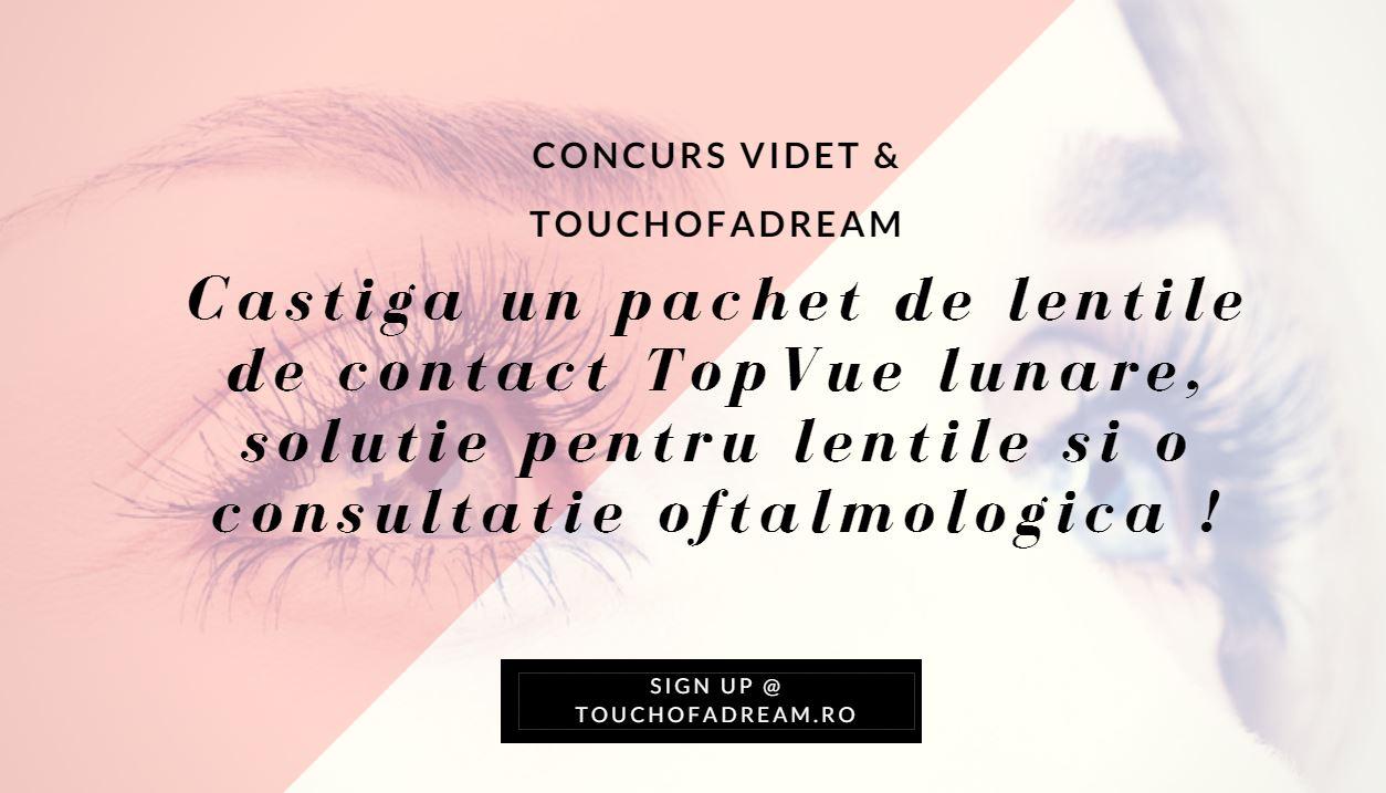concurs lentile de contact solutie si consultatie VIDET