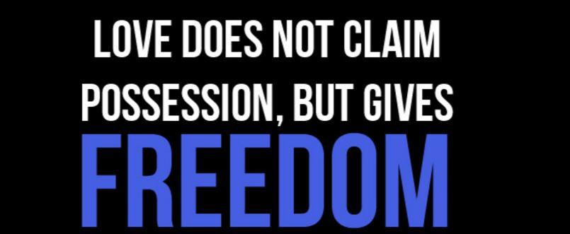 dragoste si libertate