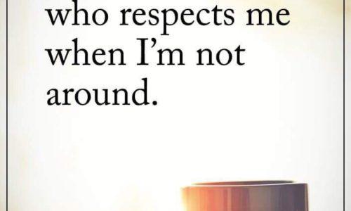 Respecta-ma daca te respect!