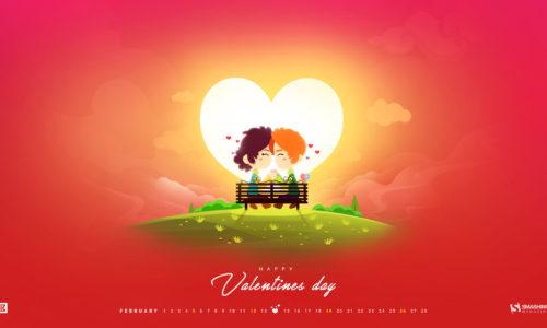 Desktop wallpaper de Valentine's Day