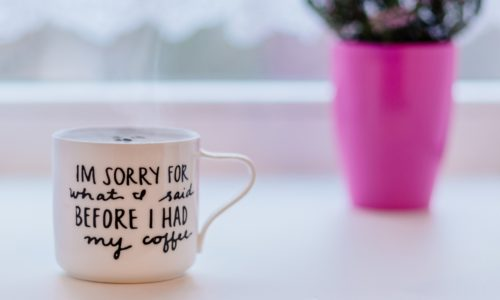 O cafea si cateva ganduri calde