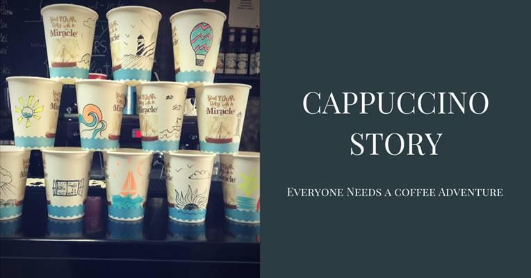 Cappuccino Story desene pahare bucuresti