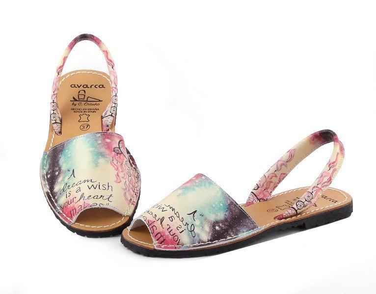 model sandala avarca