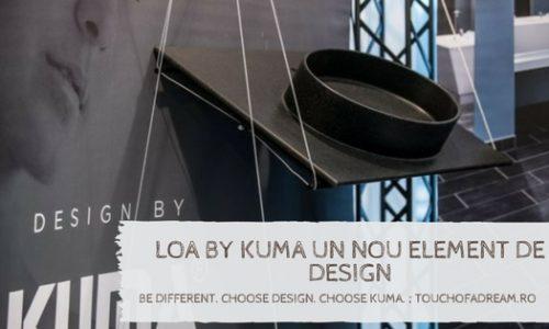 Loa by Kuma un nou element de design cu un puternic impact vizual