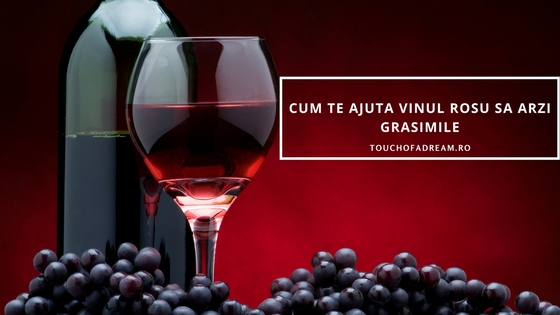 Vinul rosu arde grasimi