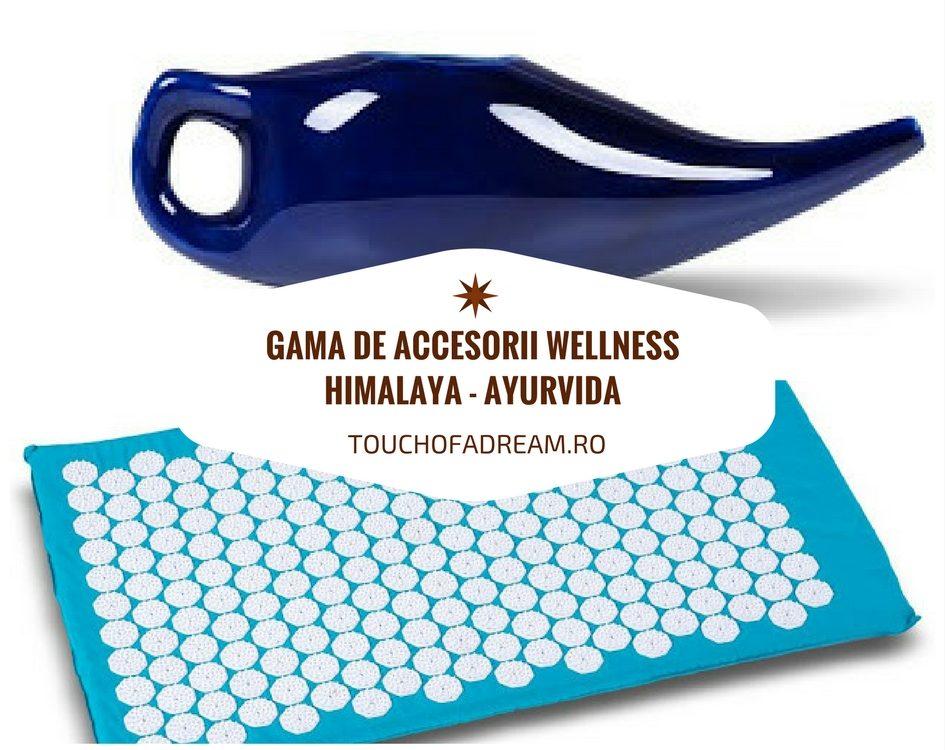 Gama de accesorii de wellness Himalaya Ayurvida