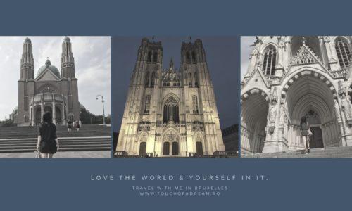 Catedrale si biserici din Bruxelles. Mihail si Gudula, Notre Dame de Laeken, Basilique du Sacre Coeur