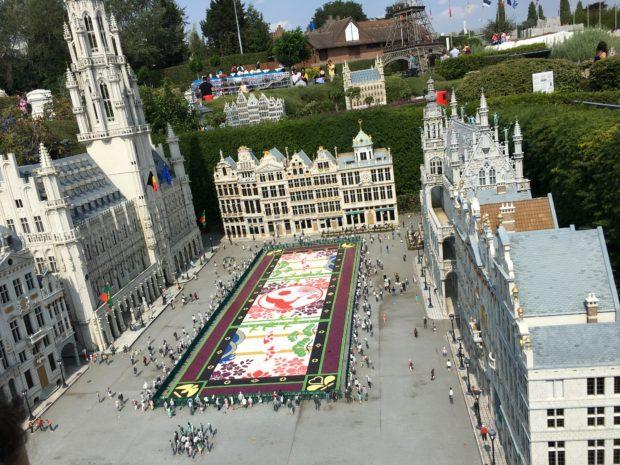 Mini Europa parc miniaturi Bruxelles Grand Place