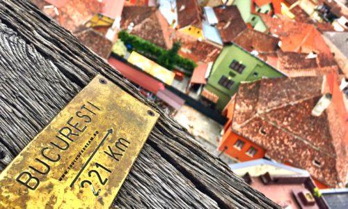 Pe strazile Cetatii Sighisoara. Obiective turistice in Sighisoara