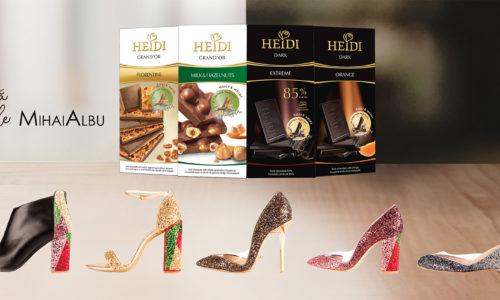 HEIDI și Mihai Albu lansează o colecție de pantofi neplictisitori, în ediție limitată.