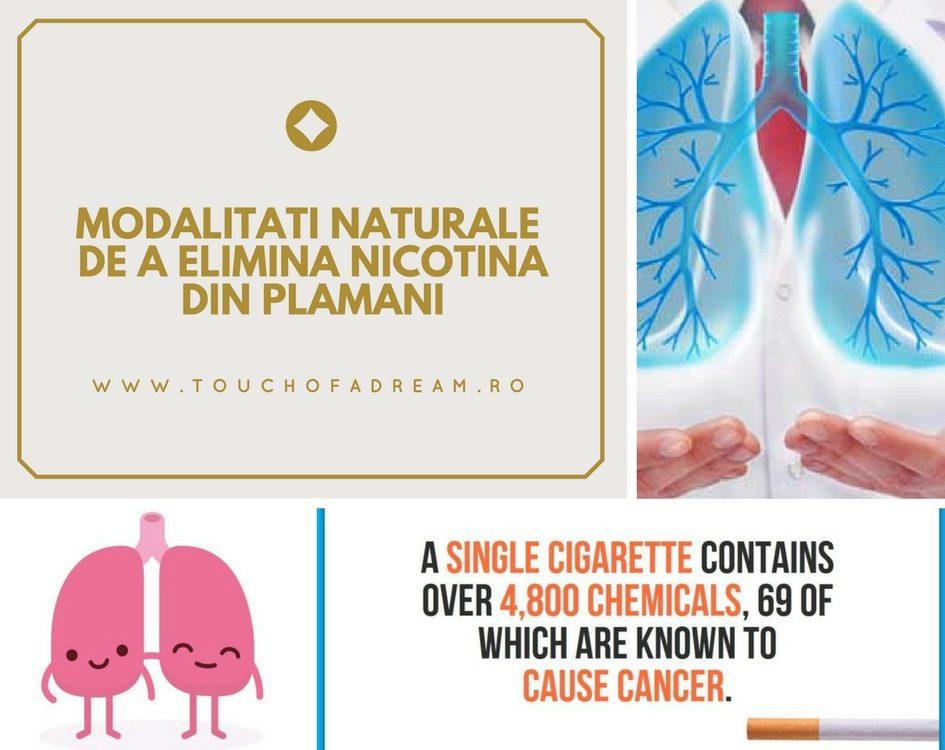cum elimini natural nicotina din corp