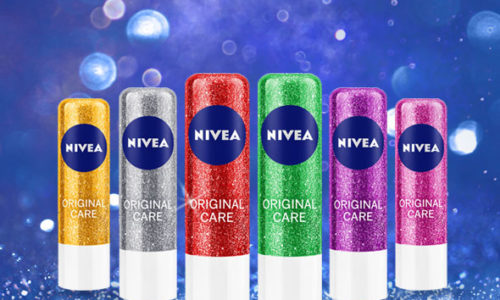 NIVEA LIP CARE SPARKLE in editie limitata sparkle
