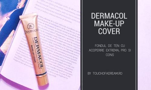 Dermacol Make-up Cover – Fondul de ten cu cea mai mare acoperire. PRO si CONS
