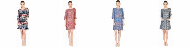 la femme rochii cu printuri florale