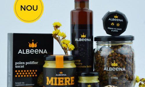 ALBEENA o nouă gamă de produse apicole românești