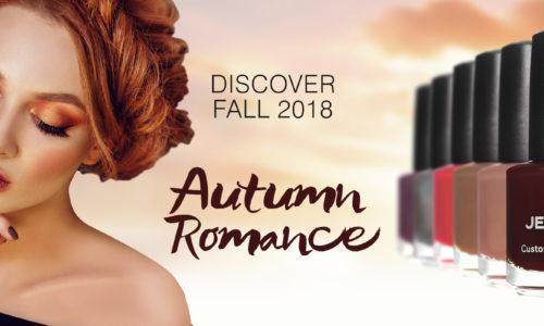 Tendințele în manichiură pentru această toamnă. Autumn Romance Fall 2018 JESSICA Phenom