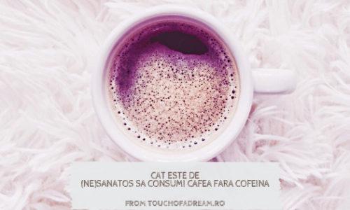 Este sănătos să consumi cafea fără cofeină? METODE DE DECOFEINIZARE
