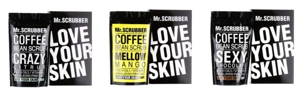 mr scrubber coffee scrub