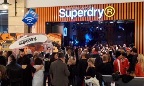 S-a deschis cel mai mare magazin Superdry din România, în AFI Cotroceni