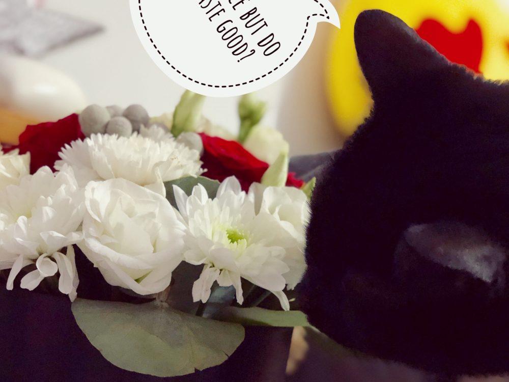 floraria mobila aranjament winterglam