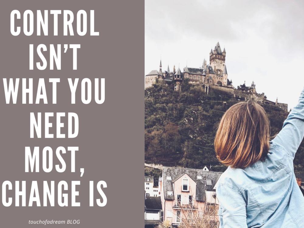 Cum să pierzi controlul și să îți recâștigi libertatea